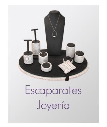 Selección de expositores para joyería
