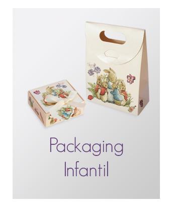 Selección de packaging infantil para joyería