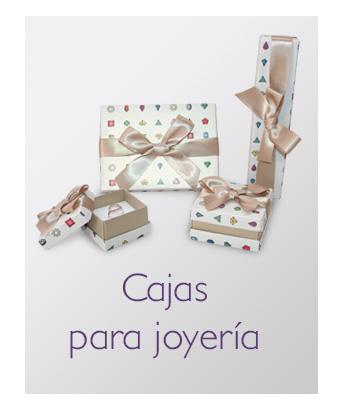 Selección de cajas para packaging de joyería