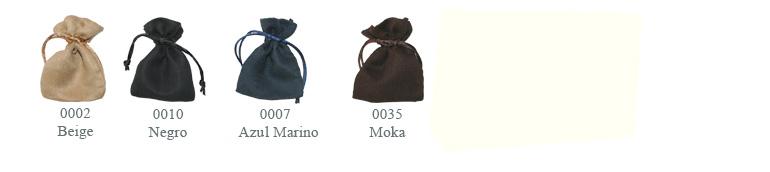 002 Beige, 0010 Negro, 0007 Azul Marino, 0035 Moka